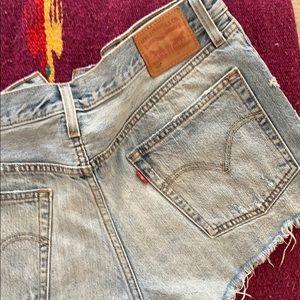 Levi's 501 shorts size 30